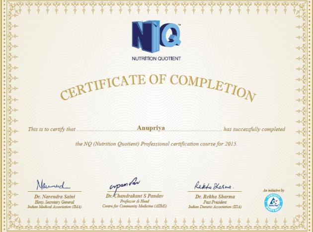 nq-certificate