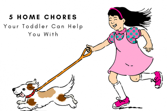 Home Chores Kids Can Help With
