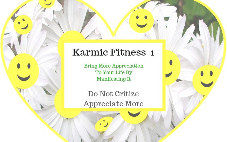 Karma , Karmic Fitness