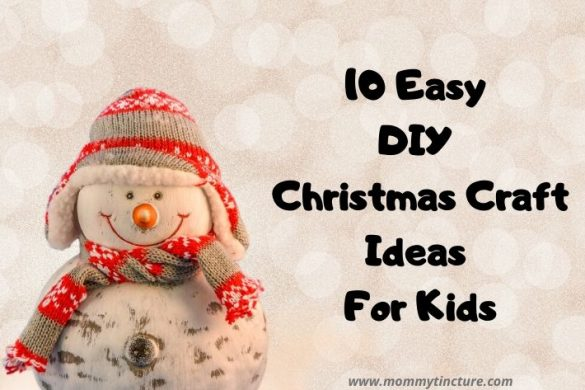 10 Easy DIY Christmas Crafts For Kids